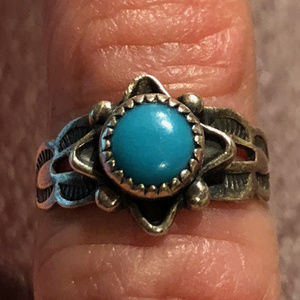 Jewelry - Tourquoise and Sterling Silver Ring